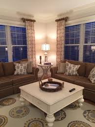 Short Wide Window Curtains by New Family Room Window Treatments Our House Pinterest Window