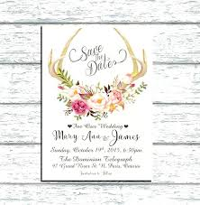 masquerade wedding invitations antler wedding invitations 2627 also antlers floral chalkboard