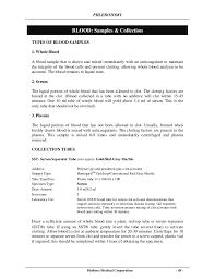 Phlebotomy Sample Resume by Phlebotomy Manual