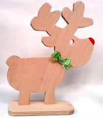 rudi reindeer decoration scrap wood hometalk