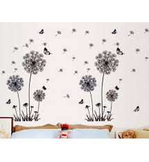 dandelion fly mural removable decal room wall sticker home decor vinyl
