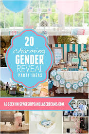 gender reveal party ideas 20 charming gender reveal party ideas and themes spaceships and