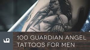 100 guardian angel tattoos for men youtube