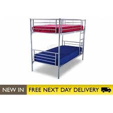 3ft Bunk Beds Buy Silver Bunk 3ft Bed Metal Bertie Bunk From Bedsos