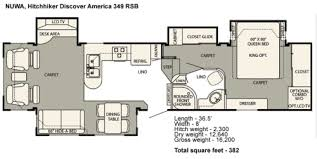 hitchhiker rv floor plans finding a family friendly full time fifth wheel rv part ii