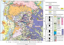 Tillamook Oregon Map by Geologic History Of Siletzia A Large Igneous Province In The