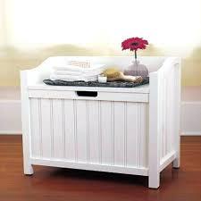 Bathroom Stools With Storage Teak Bathroom Storage Bench Impressive Bathroom Laundry Basket