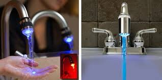 Water Faucet Night Light Water Faucet Light Kitchen Sink Faucets
