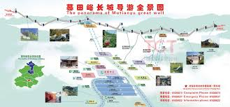 Maps Of China by Great Wall Of China Map Map Of The Great Wall Of China