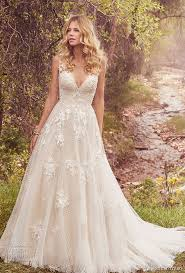 a frame wedding dress best 25 v neck wedding dress ideas on a line dress