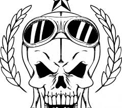 skull coloring pages free best skull coloring pages on