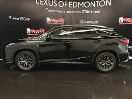 lexus rx 350 f sport used used 2017 lexus rx 350 4 door sport utility in edmonton ab l13316