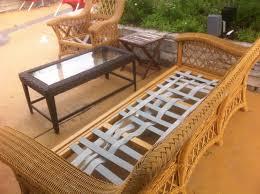 Chair Repair Straps by Miller Upholstering