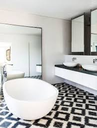 Black And White Bathroom Decor by Black White Bathroom Decor Elegant White Sink Basin Design Black