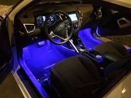Veloster Hyundai Interior Interior Foot Well Lights