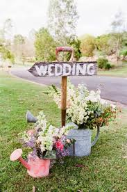 Ideas For A Garden Wedding Wedding Ceremony Day In Unique Theme Inspiration