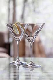 retro martini marquis by waterford vintage oversized martini glasses pair