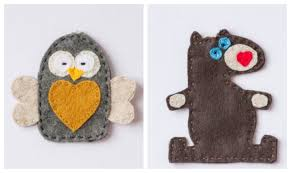 january felt ornament patterns owl creative cain cabin