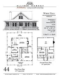 House Plans By Dimensions C0544 Allisonramseyarchitects