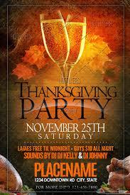 thanksgiving flyer template hotflyers net