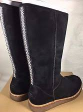 womens ugg boots with zipper ugg australia suede knee high boots for ebay