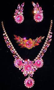 vintage necklace earrings images 813 best vintage rhinestones etc images vintage jpg