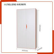 iron almirah design swing doosr wardrobe display cabinet designer