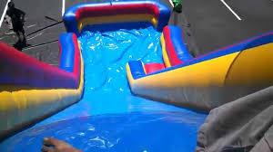 jumbo 24ft slide water slide for