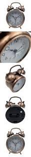 Bling Alarm Clock High Quality Hippih 3 Inch Quiet Clock Alarm Clock Loud Twin Bell