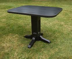 Kitchen Pedestal Table Black Pedestal Table With Leaf Modern Decoration Round Dining