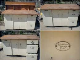 Metal Cabinets For Kitchen Amazing Vintage Metal Kitchen Cabinet With Brand Of Vintage Steel
