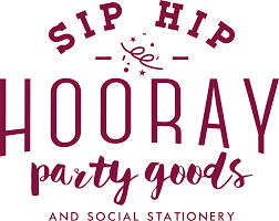 sip and shop invitation sip hip hooray u2013 personalized party favors