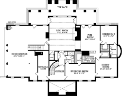 classical style house plan 5 beds 6 baths 10735 sq ft plan 137