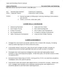 marketing skills resume marketing skills resume sle skills resumes sales and marketing