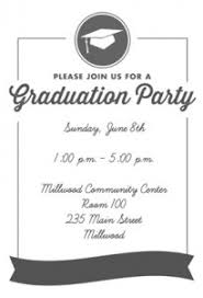 Open House Invitations Graduation Open House Invitation Templates Themesflip Com