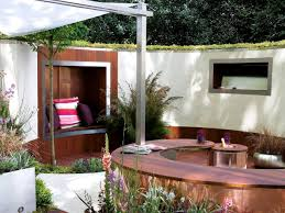 small outdoor rooms at home interior designing