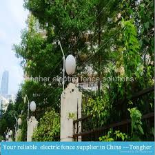 electric fence system for residential area home security with gsm