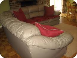 Leather Pillows For Sofa by Furniture Refresh And Decorate In A Snap With Slipcover For
