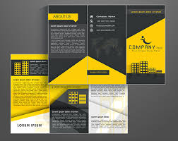 one page brochure template sle brochure creating brochures in photoshop how to create a