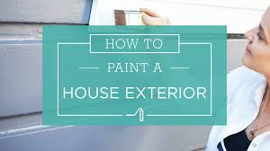 how to painting a house exterior taubmans australia youtube