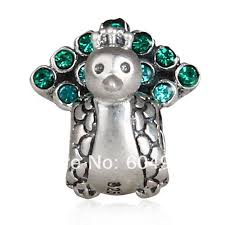 pandora style bracelet sterling silver images 1pcs lot 925 sterling silver peacock charm bead compatible with jpg