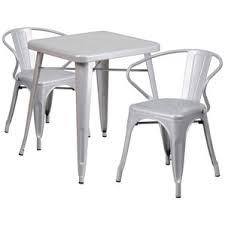 White Bistro Table Modern Outdoor Bistro Tables Allmodern