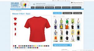 shirt selbst designen t shirt selbst gestalten vergleich und testsieger konfigurator