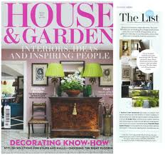 House And Home Magazine by Magazines House U0026 Garden Charlotte Rowe Garden Design