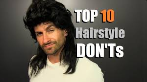 top 10 men u0027s hairstyle don u0027ts how to avoid hair that youtube