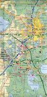 Highway Map Of Florida by Central Florida Road Map