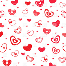 heart wrapping paper seamless wrapping paper covered with simple hearts royalty