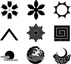 japanese family crests 21 stock vector aryunet 6309830
