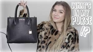 mirabella fashion what u0027s in my purse siena mirabella youtube