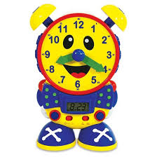 time learning clock the learning journey telly the teaching time clock primary colors